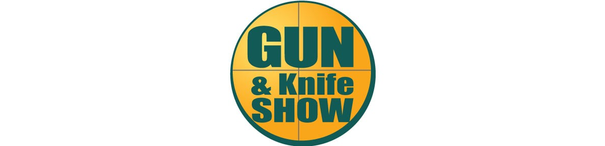 image of gun and knife show logo