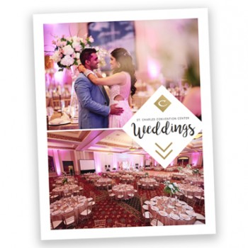 Image of St. Charles Convention Center's Wedding Brochure
